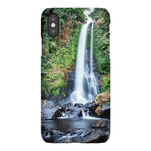 SMARTPHONE CASE GITGIT WATERFALL Smartphone Slim Case / iPhone X - Thibault Abraham