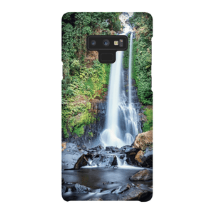 SHELL SMARTPHONE GITGIT WATERFALL Smartphone Case Ultra Thin Case / Samsung Galaxy Note 9 - Thibault Abraham