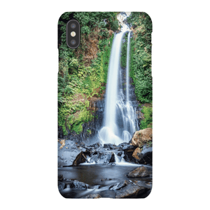 SHELL SMARTPHONE GITGIT WATERFALL Smartphone Case Ultra Thin Case / iPhone XS Max - Thibault Abraham