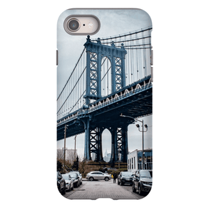 COQUE SMARTPHONE MANHATTAN BRIDGE Coque Smartphone Coque rigide / iPhone 8 - Thibault Abraham