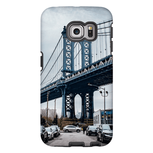 COQUE SMARTPHONE MANHATTAN BRIDGE Coque Smartphone Coque rigide / Samsung Galaxy S6 Edge - Thibault Abraham