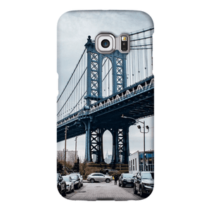 COQUE SMARTPHONE MANHATTAN BRIDGE Coque Smartphone Coque ultra fine / Samsung Galaxy S6 Edge - Thibault Abraham