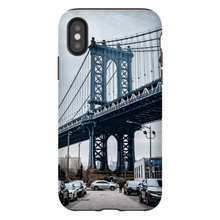 Download image in gallery, SHELL SMARTPHONE MANHATTAN BRIDGE Smartphone Case Hard Shell / iPhone XS - Thibault Abraham
