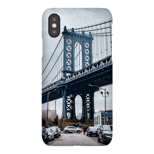 COQUE SMARTPHONE MANHATTAN BRIDGE Coque Smartphone Coque ultra fine / iPhone XS - Thibault Abraham
