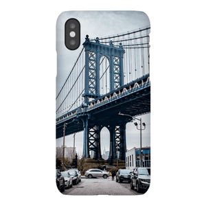 COQUE SMARTPHONE MANHATTAN BRIDGE Coque Smartphone Coque ultra fine / iPhone X - Thibault Abraham
