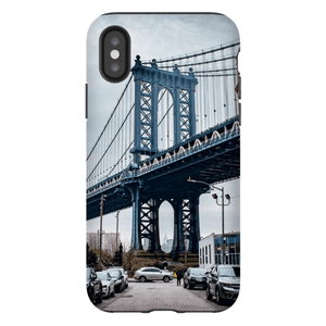 COQUE SMARTPHONE MANHATTAN BRIDGE Coque Smartphone Coque rigide / iPhone X - Thibault Abraham