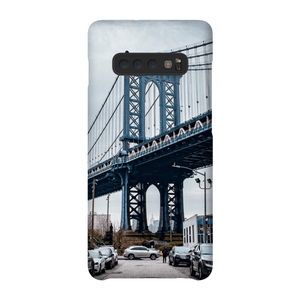 COQUE SMARTPHONE MANHATTAN BRIDGE Coque Smartphone Coque ultra fine / Samsung Galaxy S10 Plus - Thibault Abraham