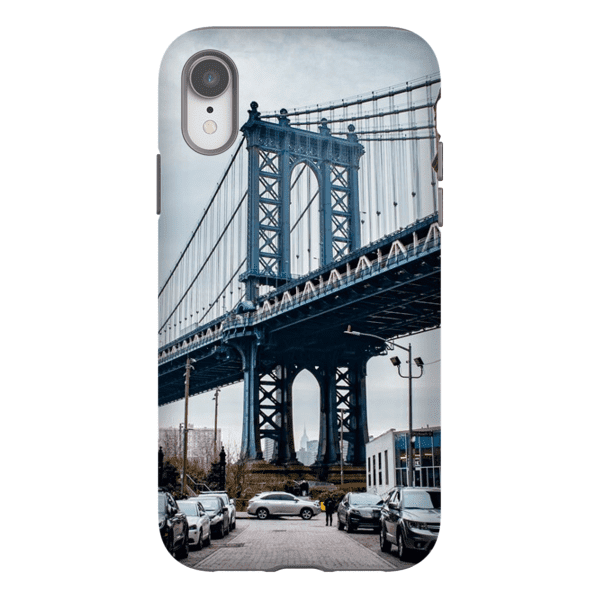 COQUE SMARTPHONE MANHATTAN BRIDGE Coque Smartphone Coque rigide / iPhone XR - Thibault Abraham