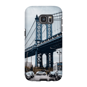 COQUE SMARTPHONE MANHATTAN BRIDGE Coque Smartphone Coque rigide / Samsung Galaxy S7 Edge - Thibault Abraham