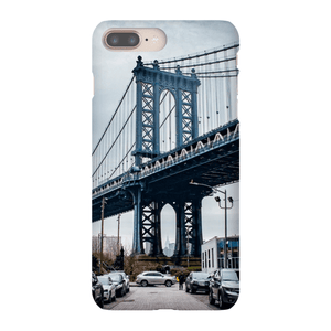 COQUE SMARTPHONE MANHATTAN BRIDGE Coque Smartphone Coque ultra fine / iPhone 8 Plus - Thibault Abraham
