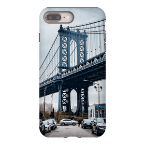 COQUE SMARTPHONE MANHATTAN BRIDGE Coque Smartphone Coque rigide / iPhone 8 Plus - Thibault Abraham