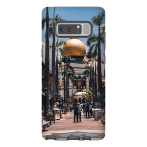 SMARTPHONE SHELL MASJID SULTAN Smartphone Case Hard Shell / Samsung Galaxy Note 8 - Thibault Abraham