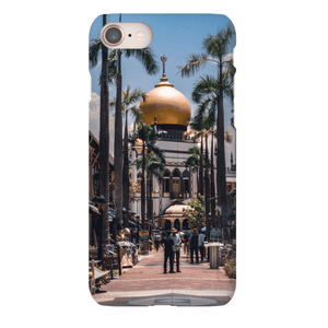 SMARTPHONE SHELL MASJID SULTAN Smartphone case Ultra slim case / iPhone 8 - Thibault Abraham