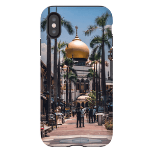 SMARTPHONE SHELL MASJID SULTAN Smartphone Hard Shell Case / iPhone XS - Thibault Abraham