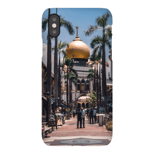 SMARTPHONE SHELL MASJID SULTAN Smartphone Case Ultra Thin Case / iPhone XS - Thibault Abraham