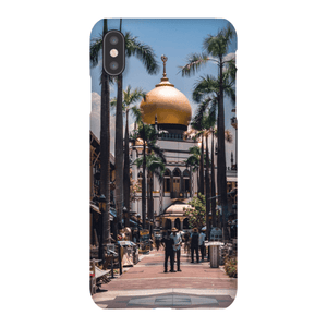 SMARTPHONE SHELL MASJID SULTAN Smartphone case Ultra slim case / iPhone XS Max - Thibault Abraham
