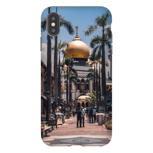 SMARTPHONE SHELL MASJID SULTAN Smartphone Case Hard Shell / iPhone XS Max - Thibault Abraham