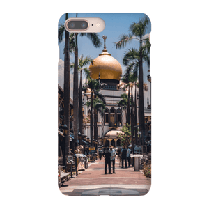 SMARTPHONE SHELL MASJID SULTAN Smartphone Case Ultra thin case / iPhone 8 Plus - Thibault Abraham