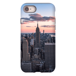 SMARTPHONE SHELL TOP OF THE ROCK Smartphone Case Hard Shell / iPhone 8 - Thibault Abraham
