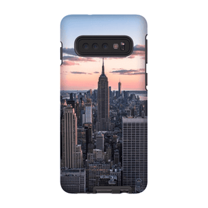 COQUE SMARTPHONE TOP OF THE ROCK Coque Smartphone Coque rigide / Samsung Galaxy S10 - Thibault Abraham
