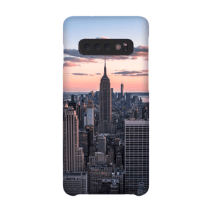 COQUE SMARTPHONE TOP OF THE ROCK Coque Smartphone Coque ultra fine / Samsung Galaxy S10 - Thibault Abraham