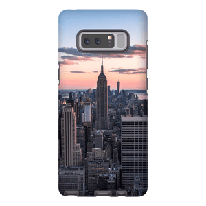 COQUE SMARTPHONE TOP OF THE ROCK Coque Smartphone Coque rigide / Samsung Galaxy Note 8 - Thibault Abraham