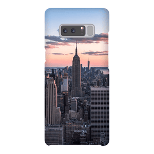 SMARTPHONE SHELL TOP OF THE ROCK Smartphone case Ultra slim case / Samsung Galaxy Note 8 - Thibault Abraham