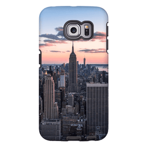 COQUE SMARTPHONE TOP OF THE ROCK Coque Smartphone Coque rigide / Samsung Galaxy S6 Edge - Thibault Abraham