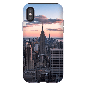 COQUE SMARTPHONE TOP OF THE ROCK Coque Smartphone Coque rigide / iPhone X - Thibault Abraham