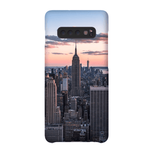 SMARTPHONE CASE TOP OF THE ROCK Smartphone Slim Case / Samsung Galaxy S10 Plus - Thibault Abraham