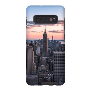 SMARTPHONE SHELL TOP OF THE ROCK Smartphone Case Hard Shell / Samsung Galaxy S10 Plus - Thibault Abraham