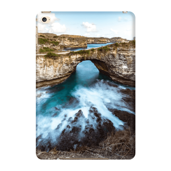 COQUE TABLETTE BROKEN BEACH Coque Tablette iPad Mini 4 - Thibault Abraham
