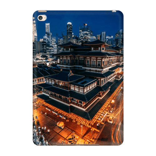 TABLET CASE BUDDHA TOOTH RELIC TEMPLE iPad Mini 4 - Thibault Abraham