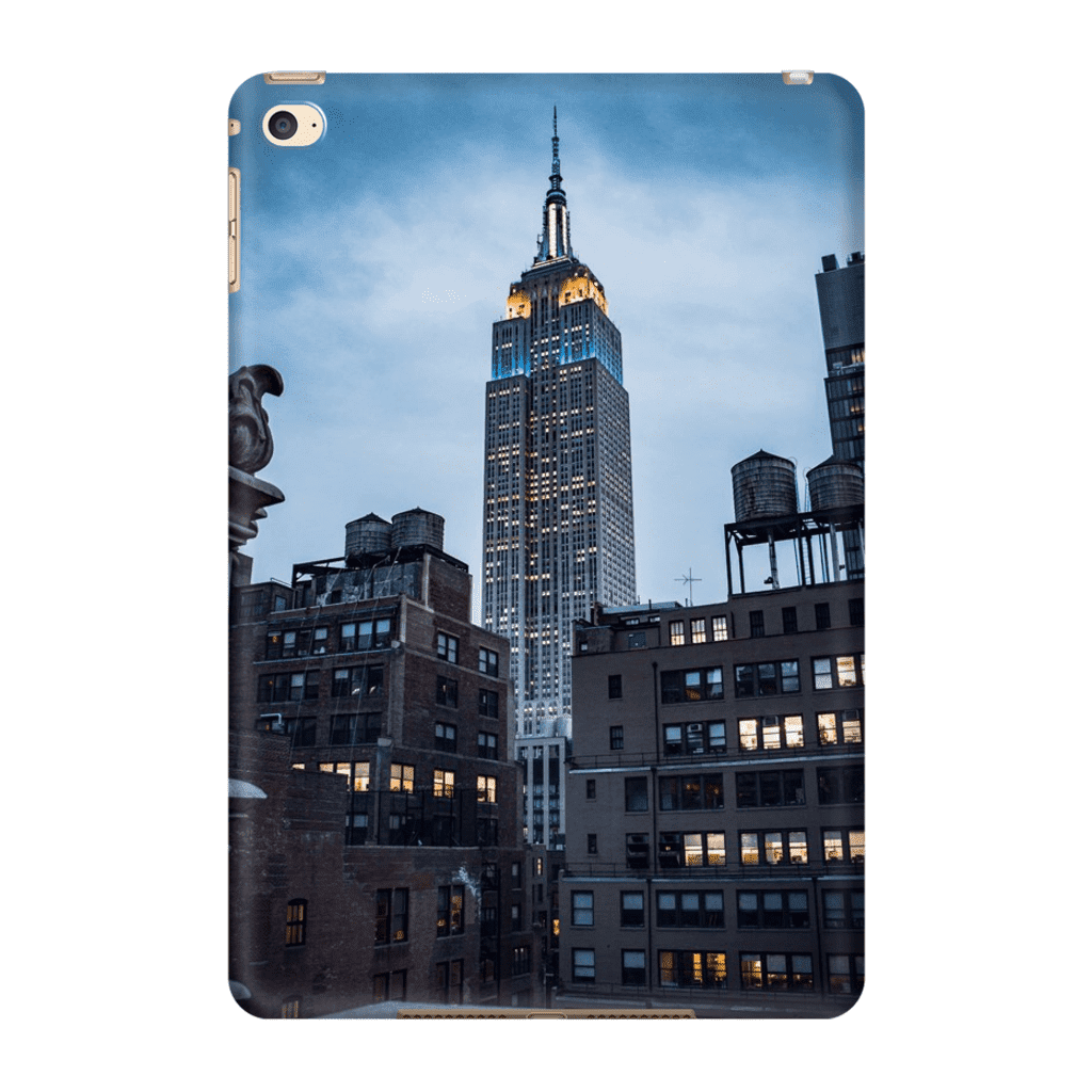 COQUE TABLETTE EMPIRE STATE Coque Tablette iPad Mini 4 - Thibault Abraham