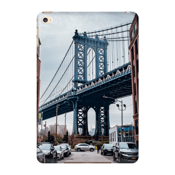 COQUE TABLETTE MANHATTAN BRIDGE Coque Tablette iPad Mini 4 - Thibault Abraham