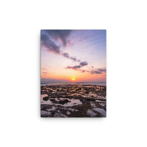 BALI BEACH SUNSET Affiches 12in x 18in (30cm x 45cm) / Canvas - Thibault Abraham