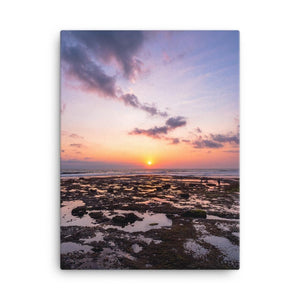 BALI BEACH SUNSET Affiches 18in x 24in (45cm x 61cm) / Canvas - Thibault Abraham