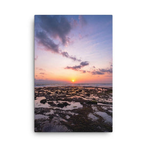 BALI BEACH SUNSET Affiches 24in x 36in (61cm x 91cm) / Canvas - Thibault Abraham