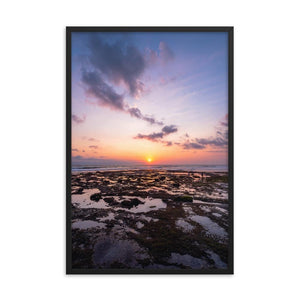 BALI BEACH SUNSET Posters 24in x 36in (61cm x 91cm) / Framed - Thibault Abraham