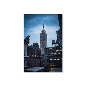 EMPIRE STATE Prints 12in x 18in (30cm x 45cm) / Unframed - Thibault Abraham