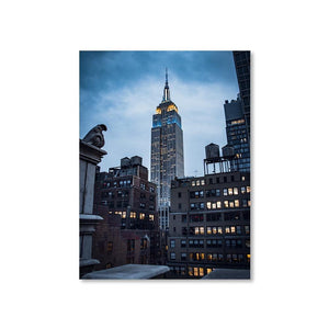 EMPIRE STATE Prints 18in x 24in (45cm x 61cm) / Unframed - Thibault Abraham