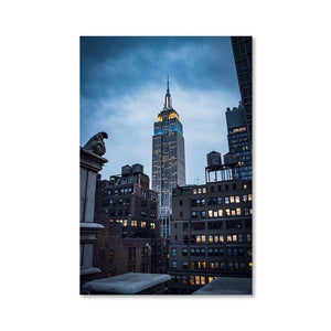 EMPIRE STATE Prints 24in x 36in (61cm x 91cm) / Unframed - Thibault Abraham