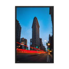 Load image in gallery, FLAT IRON Prints 39in x 24in (36cm x 61cm) / Framed - Thibault Abraham