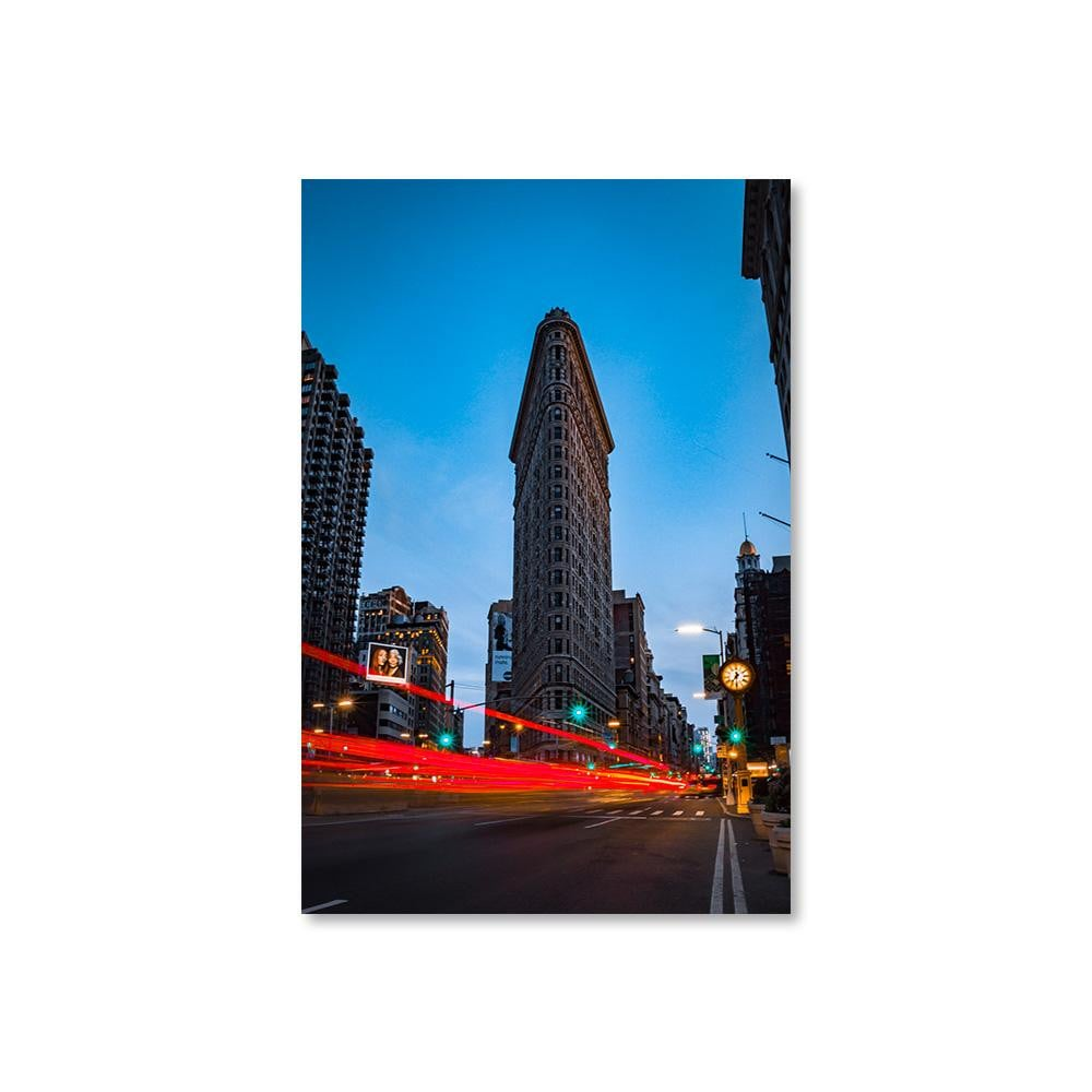 FLAT IRON Posters 12in x 18in (30cm x 45cm) / Unframed - Thibault Abraham