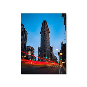 FLAT IRON Posters 18in x 24in (45cm x 61cm) / Unframed - Thibault Abraham