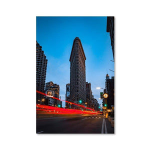 FLAT IRON Posters 24in x 36in (61cm x 91cm) / Unframed - Thibault Abraham