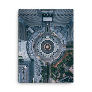 FOUNTAIN OF WEALTH Posters 18in x 24in (45cm x 61cm) / Canvas - Thibault Abraham