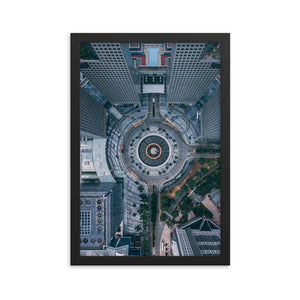 FOUNTAIN OF WEALTH Prints 12in x 18in (30cm x 45cm) / Framed - Thibault Abraham