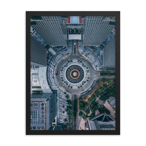 FOUNTAIN OF WEALTH Prints 18in x 24in (45cm x 61cm) / Framed - Thibault Abraham