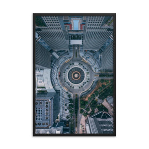 FOUNTAIN OF WEALTH Prints 24in x 36in (61cm x 91cm) / Framed - Thibault Abraham